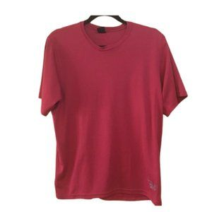 MOUNTAIN HARDWEAR Tshirt Red Short Sleeve Outdoor
